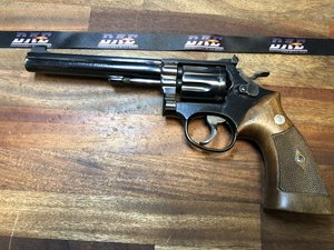 "Smith & Wesson m/14, 6"", .38 spl"