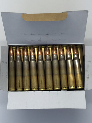 GGG 5,56x45 AMMO, 62G FMJ, 50 ptr / ask