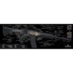 Vapenvårdsmatta AR15