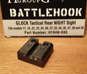 Battlehook TRITIUM Rear Night Sight