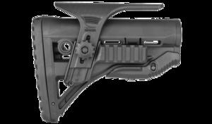GL-SHOCK PCP, AR15 Buttstock w/ Adj Cheek Piece & Picatinny Adaptor