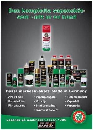 Universalolja Ballistol, Spray