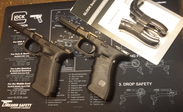 Glock Frame G17 Gen4 inkl beavertail SET
