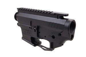 Rainier Arms 9MM Billet Receiver Set - Black