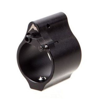 Rainier Arms Adjustable Gas Block Solid Bleed Off -.936 Black