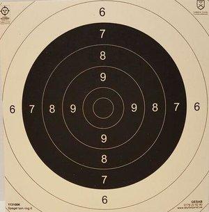 Spegel till Nationell Pistoltavla, 1 st