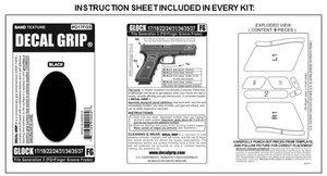 Decal Grip Glock 17/22