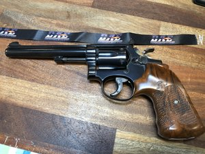 """Revolver S&W 17 .22 Lr, 6"""" pipa, Single Action Only"""
