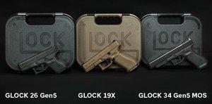 Glock 34 Gen5 MOS 9x19 UTGÅENDE ARTIKEL