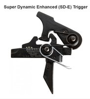 Geissele Super Dynamic Enhanced (SD-E) Flat 2 StageTrigger