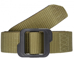 "5.11 1.5"" Double Duty TDU® Belt GREEN / BLACK"