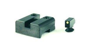 Kombo: Battlehook Black Rear / FO Front Sight for Glock 9mm / 40 S&W