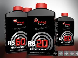 Reload Swiss RS80 Gevärskrut
