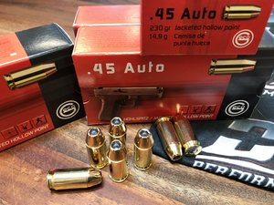 GECO .45 ACP 230 Grain HSP 50 ptr